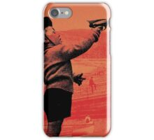 Retro Raygun child iPhone Case/Skin
