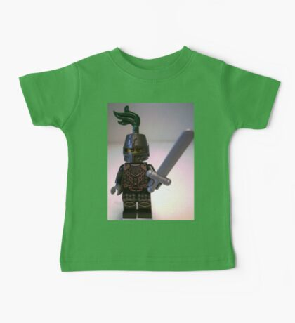 Dragon Knight with Chain Mail & Helmet Minifigure Baby Tee