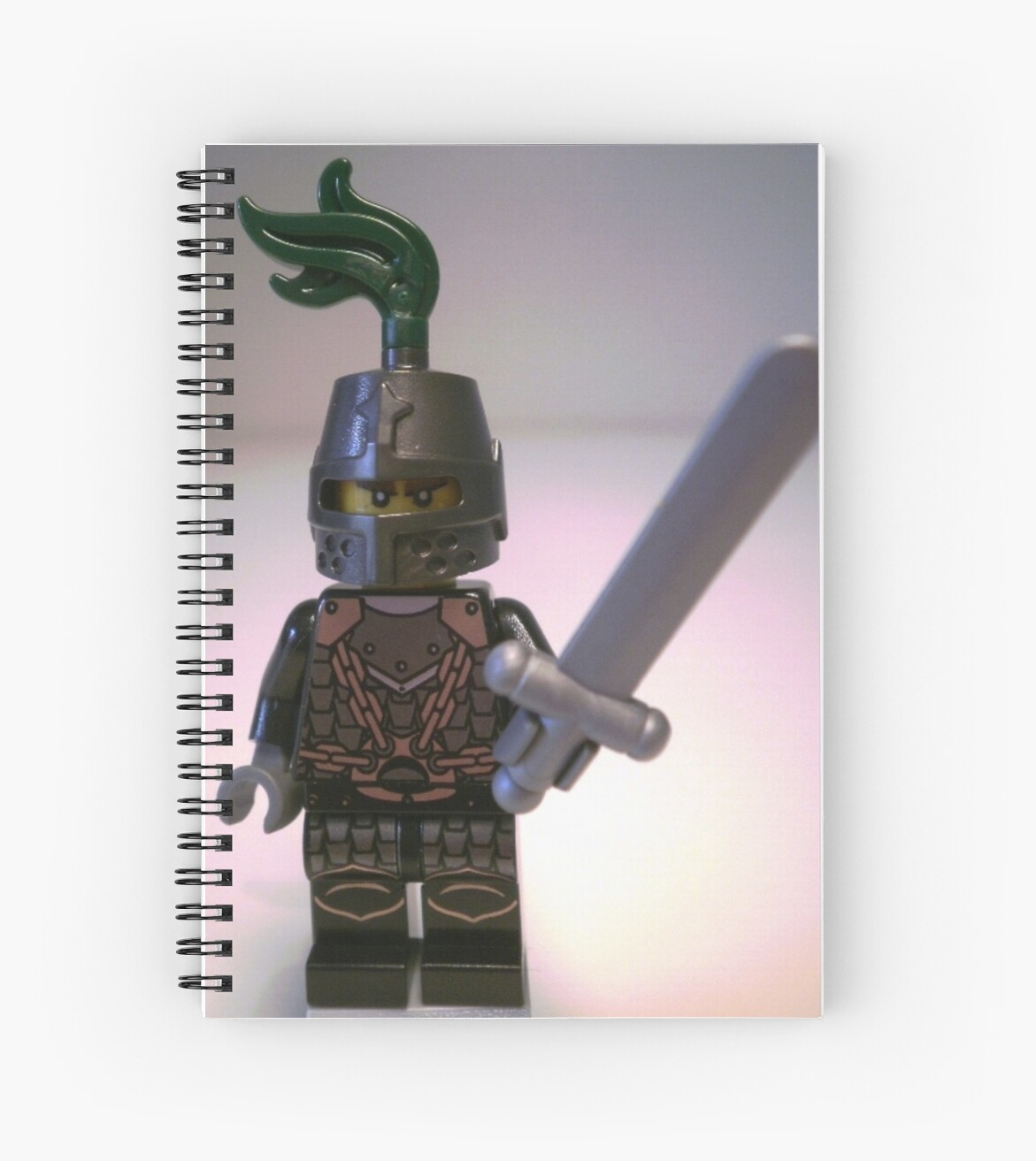 Dragon Knight with Chain Mail & Helmet Minifigure by Customize My Minifig