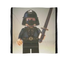 Black Japanese Samurai Warrior Minifigure / TMNT Shredder Custom Minifig Scarf