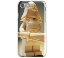 Ching Dynasty White Ghost Warrior Statue Custom Minifig iPhone Case/Skin