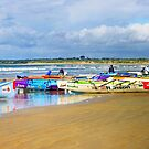 Ocean Grove &#x27;10 Carnival surf boats by Andy Berry