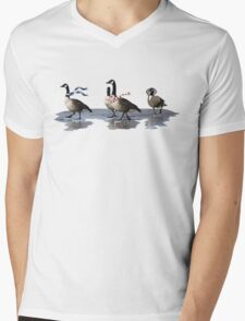 Cool Geese Mens V-Neck T-Shirt