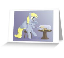 Muffin in a bottle Greeting Card