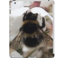 Busy Bee (Close Up) iPad Case/Skin