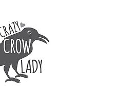 CRAZY Crow Lady by jazzydevil