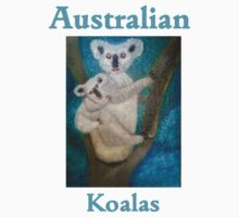 Australian Koalas One Piece - Short Sleeve