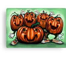 Pumpkin Party Canvas Print