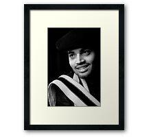 My Friend Sahil  Framed Print