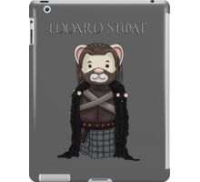 Eddard Stoat iPad Case/Skin