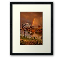 """The Covenant"" Framed Print"