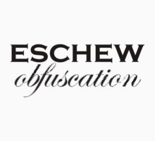 Eschew obfuscation Kids Clothes