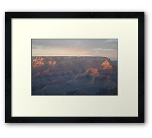 Light Fusion on The Grand Canyon Framed Print
