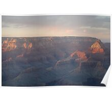 Light Fusion on The Grand Canyon Poster