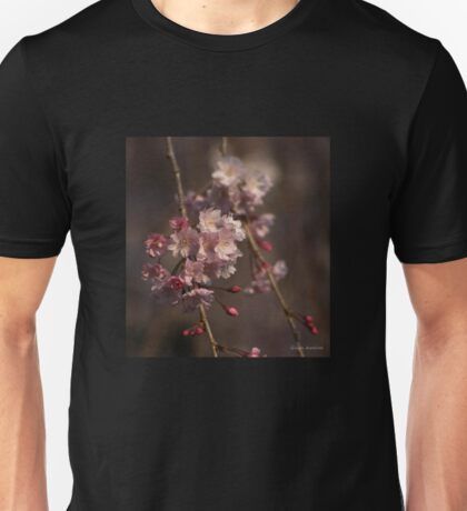 Weeping Cherry Blossoms Unisex T-Shirt