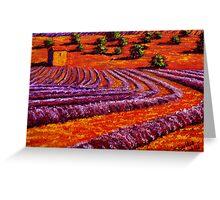 Provençal Country Lavender Greeting Card