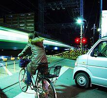 Trains, Bikes & Automobiles - Osaka by kaizy