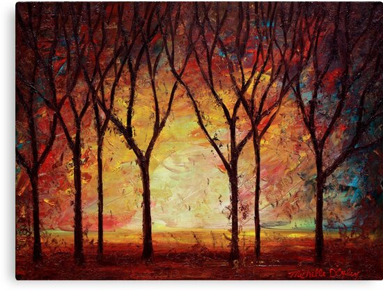 The Forest Dream by Abstract D'Oyley