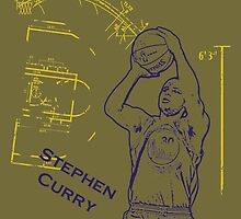 Stephen Curry Finals by ervinderclan