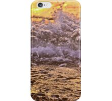 Sunset in the Waves iPhone Case/Skin