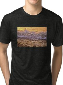 Sunset in the Waves Tri-blend T-Shirt
