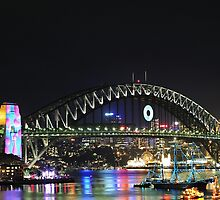 Sydney New Year Eve 2009 - Calm before the firestorm by Gino Iori