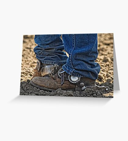 These Boots Were Made For Workin' Greeting Card