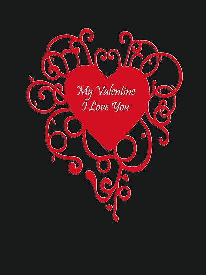 Valentine Card by Shelagh Linton