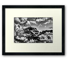 Cloud Bursting Framed Print
