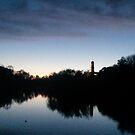 Blue Sunset by AlatarTheBlue