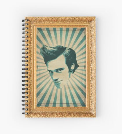 Carrey Spiral Notebook