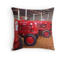 In the red Throw Pillow