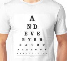 Jeff Buckley - Hallelujah Unisex T-Shirt