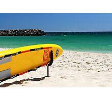 lifeguard surfboard Photographic Print