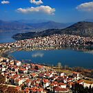 Kastoria & Orestiada lake - Macedonia, Greece by Hercules Milas