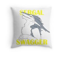 Sergal Swagger Throw Pillow