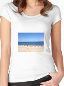 Cape Cod Beach Women's Fitted Scoop T-Shirt