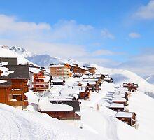 Ski-Scape Dream-Scape  by Emma Holmes