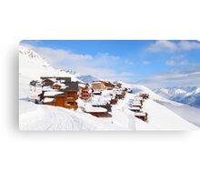 Ski-Scape Dream-Scape  Canvas Print