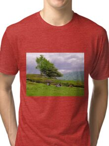 Weather report Tri-blend T-Shirt
