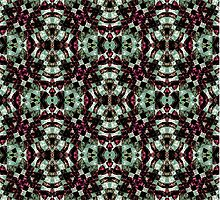 Geometric Abstract Grunge Pattern by DFLC Prints