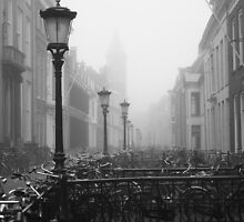 Misty morning - Drift, Utrecht (2) by Majnu