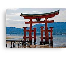 The Great Torii Gate Canvas Print