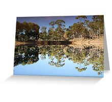 Mirror Mirror on the land Greeting Card