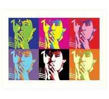 Bill Hicks - Pop Art Bill Art Print