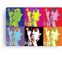 Bill Hicks - Pop Art Bill Canvas Print