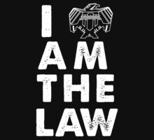 I am the law [white] One Piece - Long Sleeve
