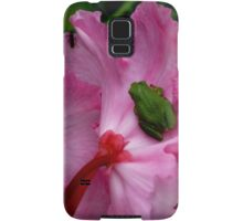 Dinner is Served On A Rhododendron Samsung Galaxy Case/Skin