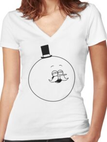 Good Show! Women's Fitted V-Neck T-Shirt
