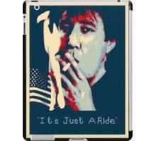 Bill Hicks - It's Just A Ride Tee iPad Case/Skin